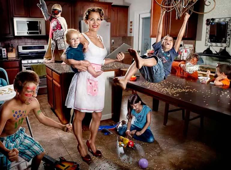 образ идеальной мамы