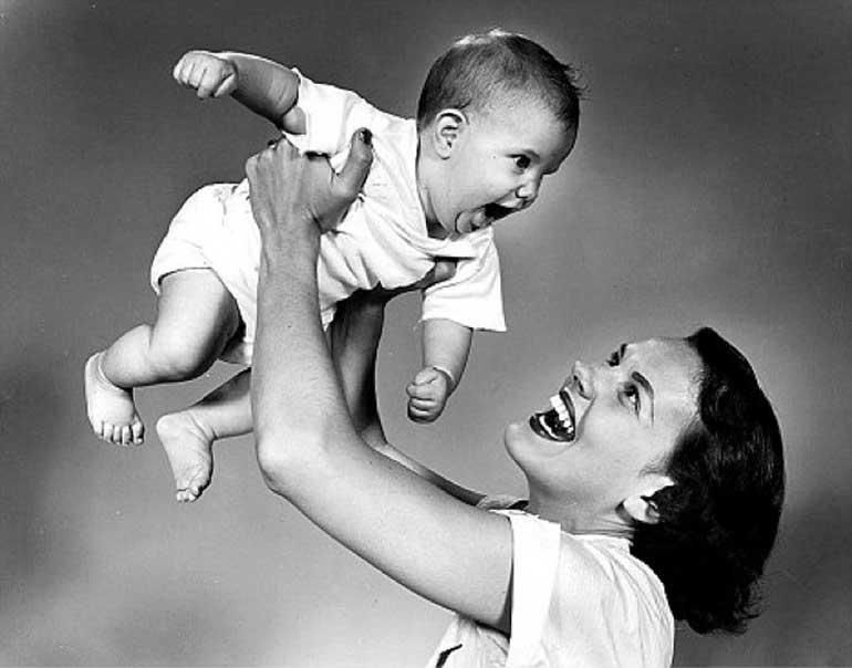ссср мама с ребенком