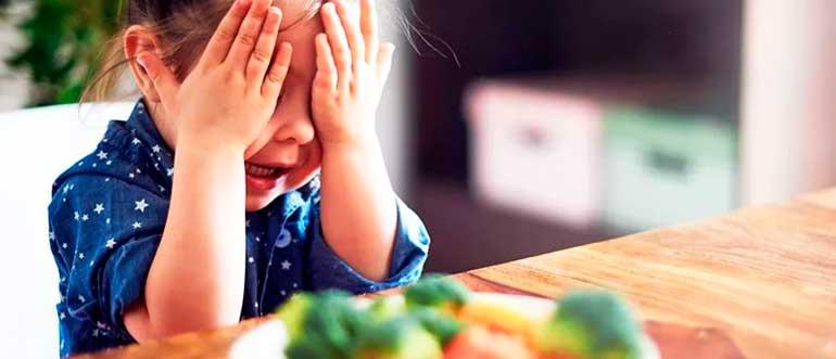 Как приучить ребенка есть овощи
