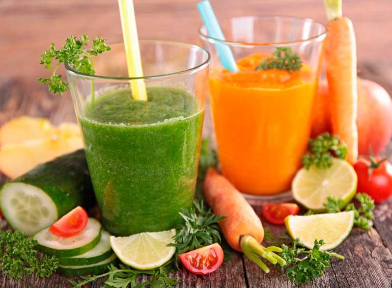 смузи из овощей для ребенка